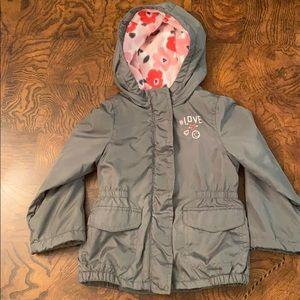 Carter's toddler girl sz 3T lightweight jacket